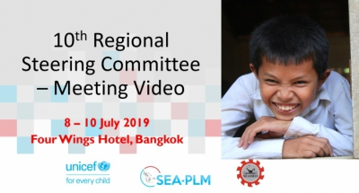 Video of 10th Regional Steering Committee for SEA-PLM