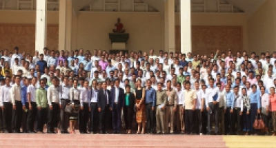 Cambodia Prepares Test Administrators in Battambang