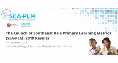 The Official Launch of Southeast Asia Primary Learning Metrics (SEA-PLM) 2019 Results | 1-2 December 2020